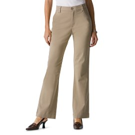 khaki dress pants for women - Pi Pants